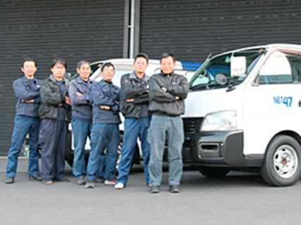 チームワークも◎1tドライバーも募集中です。